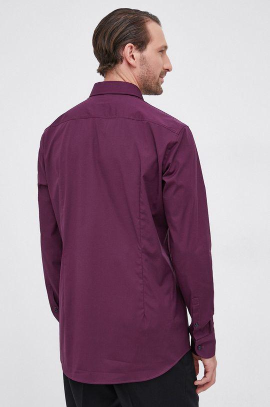 ciemny fioletowy Boss - Koszula