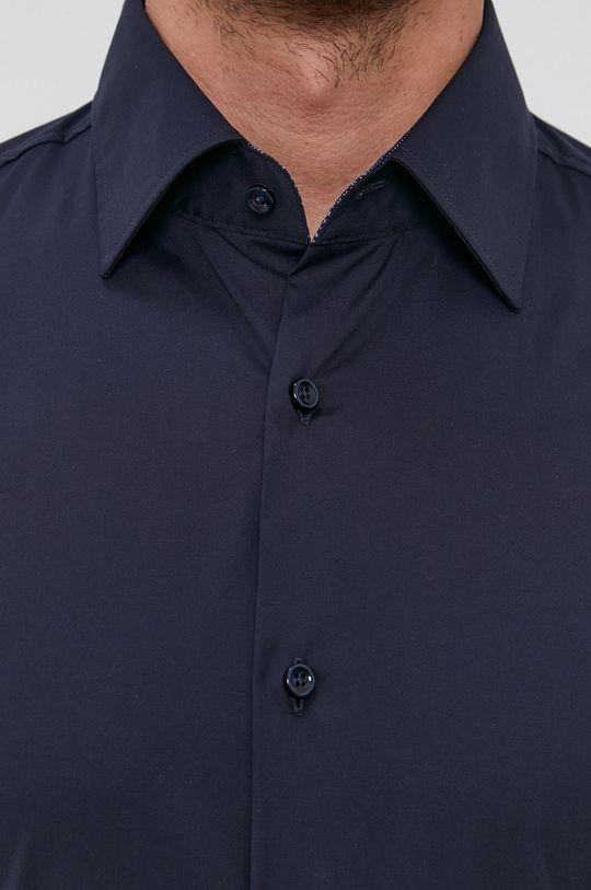 Boss - Koszula granatowy