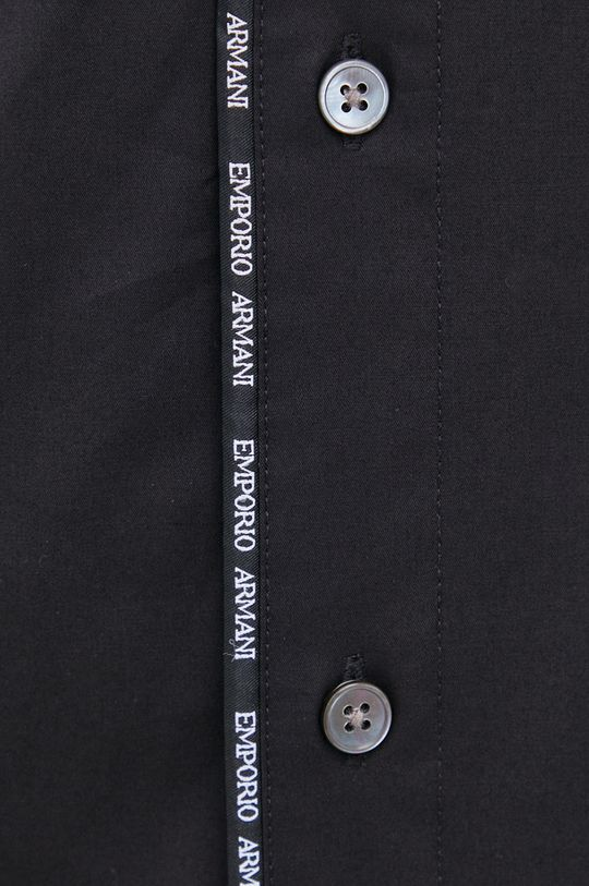 Emporio Armani - Koszula czarny