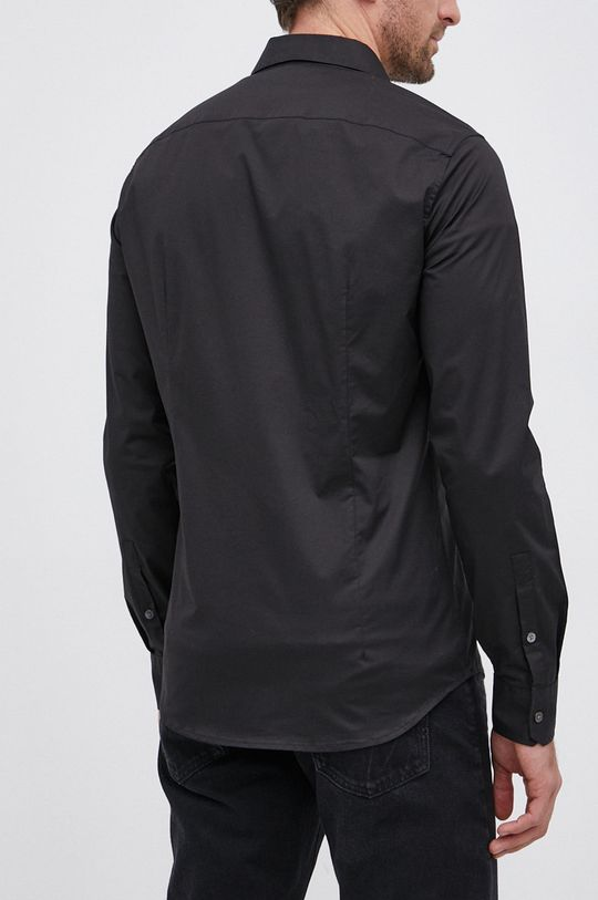 czarny Emporio Armani - Koszula