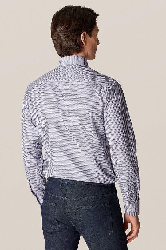 niebieski ETON - Koszula bawełniana