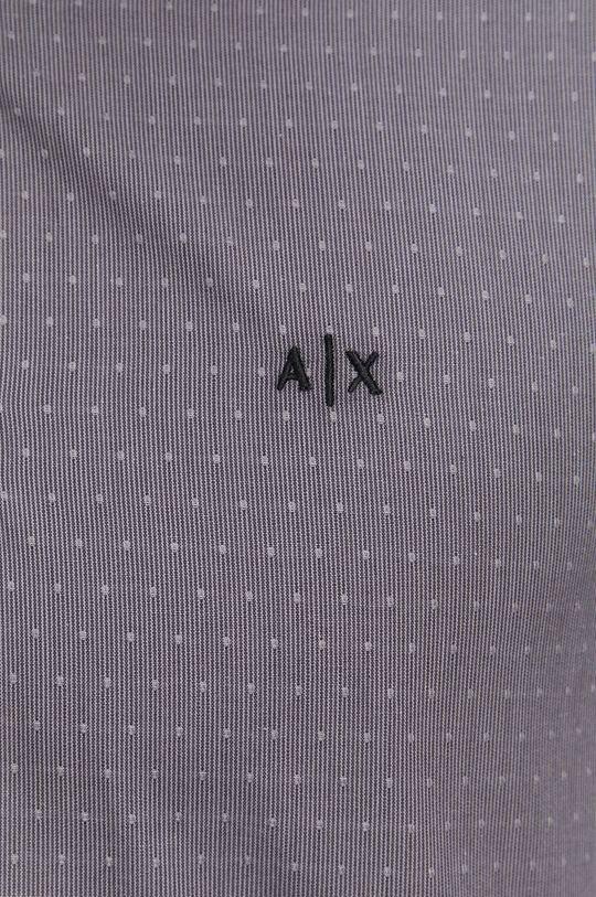 Armani Exchange - Koszula bawełniana szary