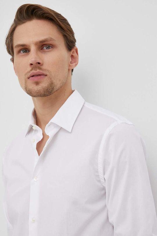 biały Trussardi - Koszula Męski