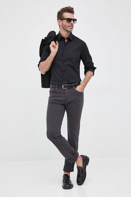 Trussardi - Koszula czarny