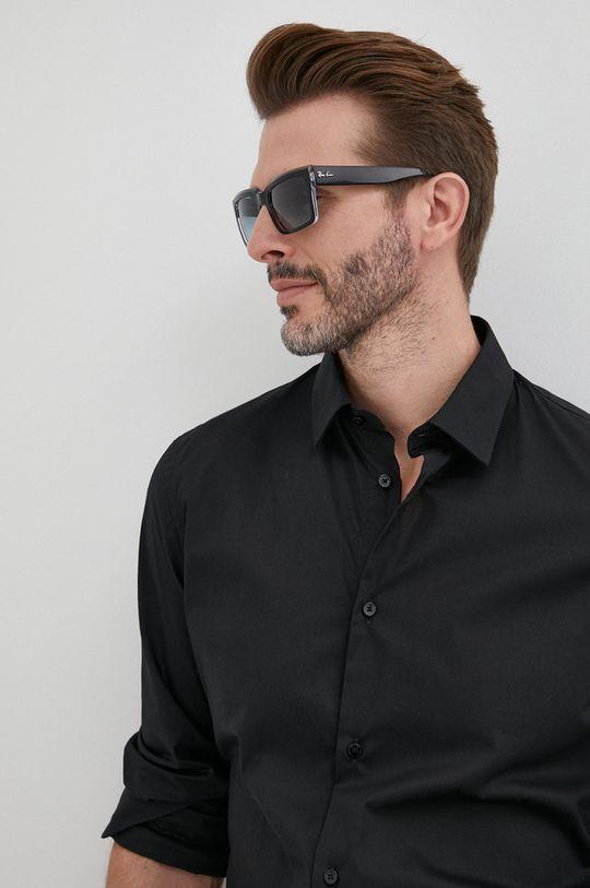 czarny Trussardi - Koszula