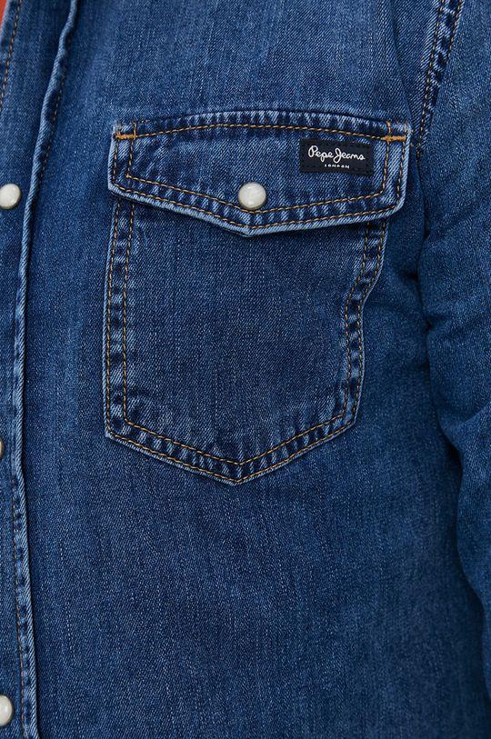 Pepe Jeans - Koszula jeansowa Hammond Wiser niebieski