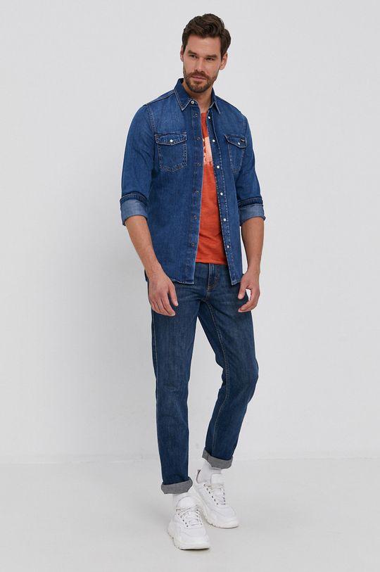 Pepe Jeans - Koszula jeansowa Hammond Wiser 100 % Bawełna