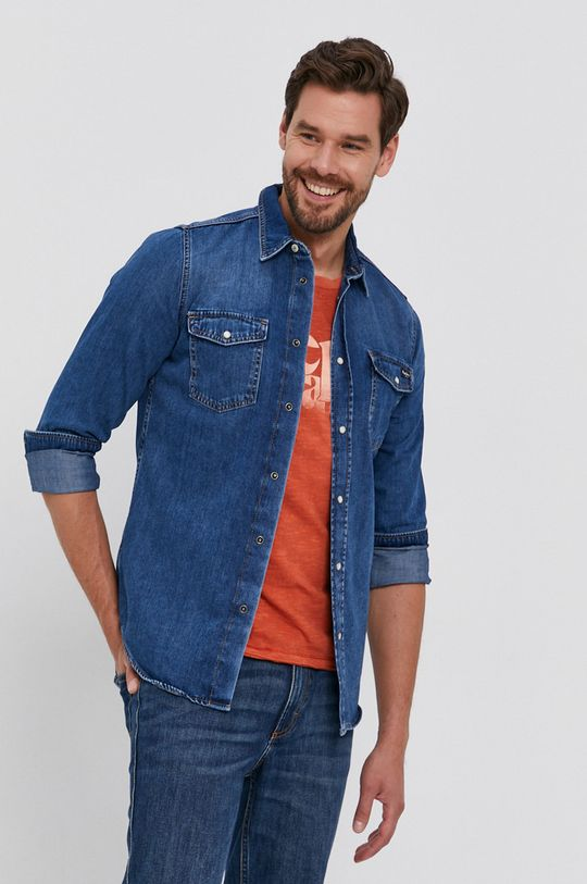 Pepe Jeans - Koszula jeansowa Hammond Wiser Męski