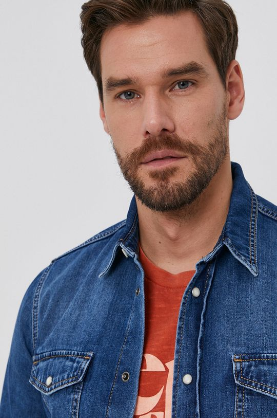 Pepe Jeans - Koszula jeansowa Hammond Wiser