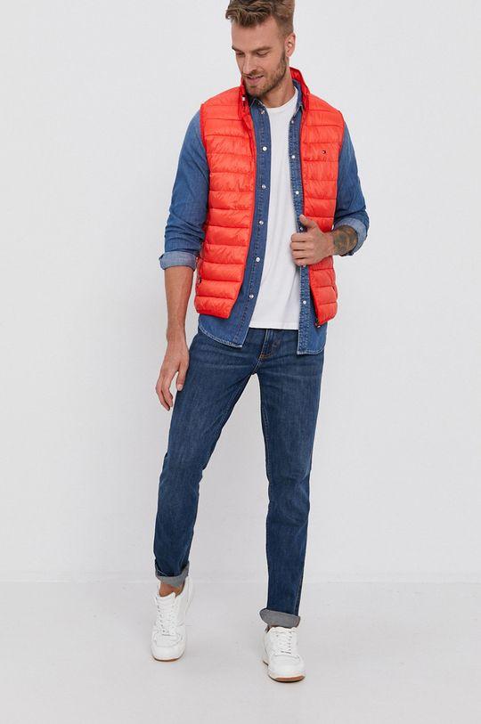 Pepe Jeans - Koszula bawełniana jeansowa Porter 100 % Bawełna