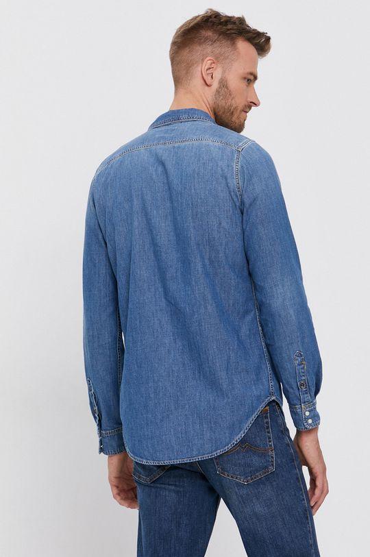 niebieski Pepe Jeans - Koszula bawełniana jeansowa Porter