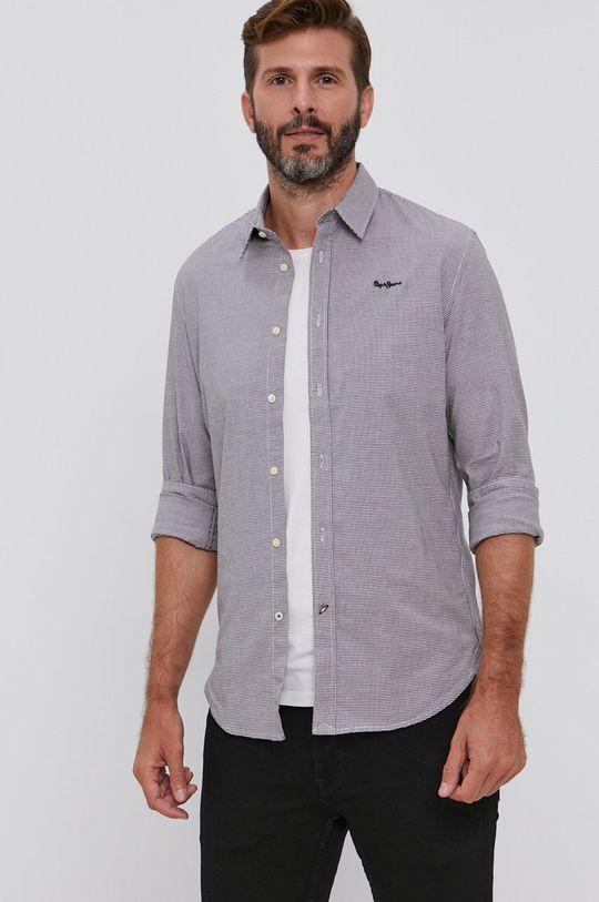 Pepe Jeans - Koszula Simon 98 % Bawełna, 2 % Elastan