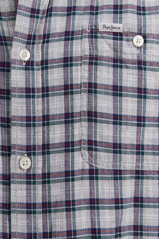 Pepe Jeans - Koszula bawełniana Gerard szary