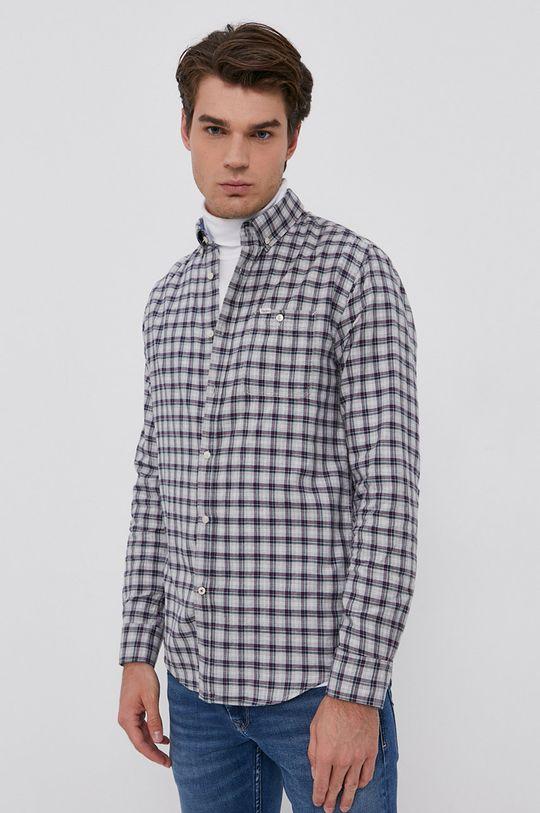 Pepe Jeans - Koszula bawełniana Gerard 100 % Bawełna