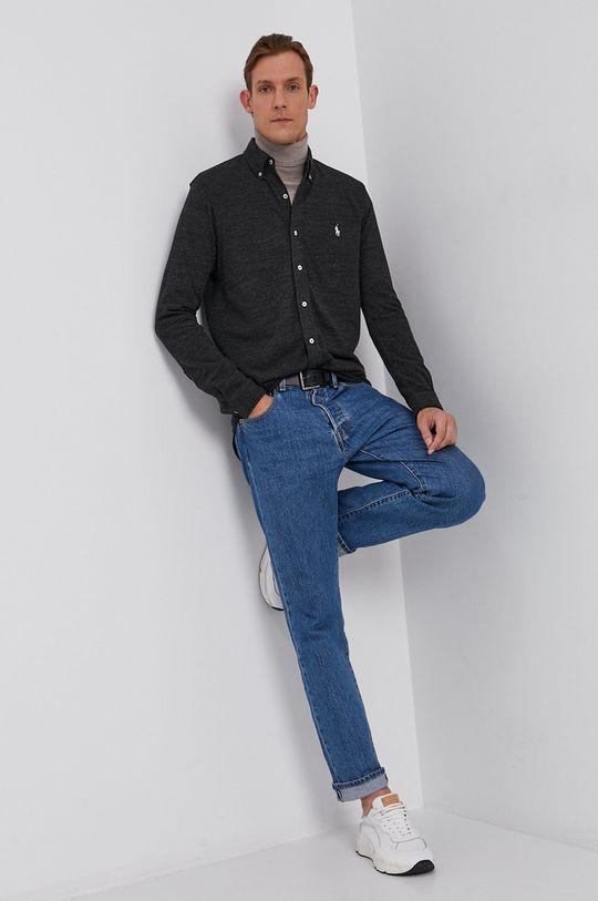 czarny Polo Ralph Lauren - Koszula bawełniana Męski