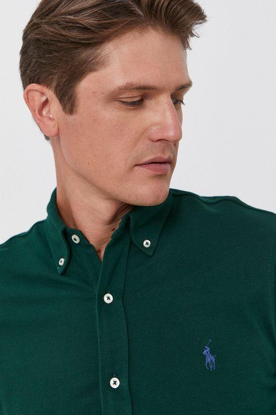 zelená Polo Ralph Lauren - Bavlnená košeľa