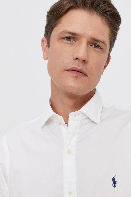 Polo Ralph Lauren - Bavlněná košile bílá