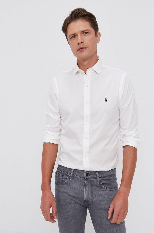 bílá Polo Ralph Lauren - Bavlněná košile