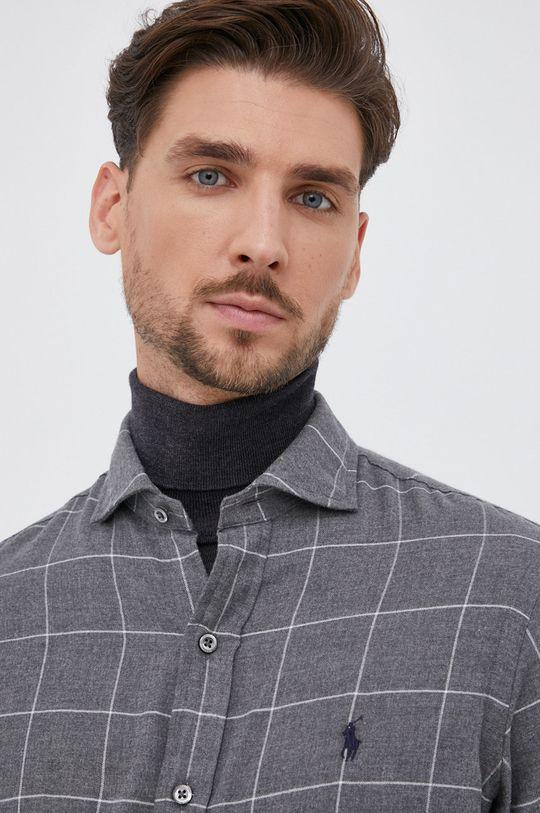 Polo Ralph Lauren - Βαμβακερό πουκάμισο Ανδρικά