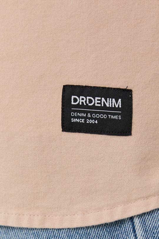 Dr. Denim - Koszula bawełniana cielisty