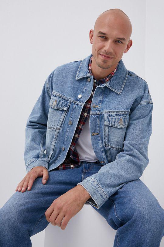modrá Dr. Denim - Džínová bunda Pánský