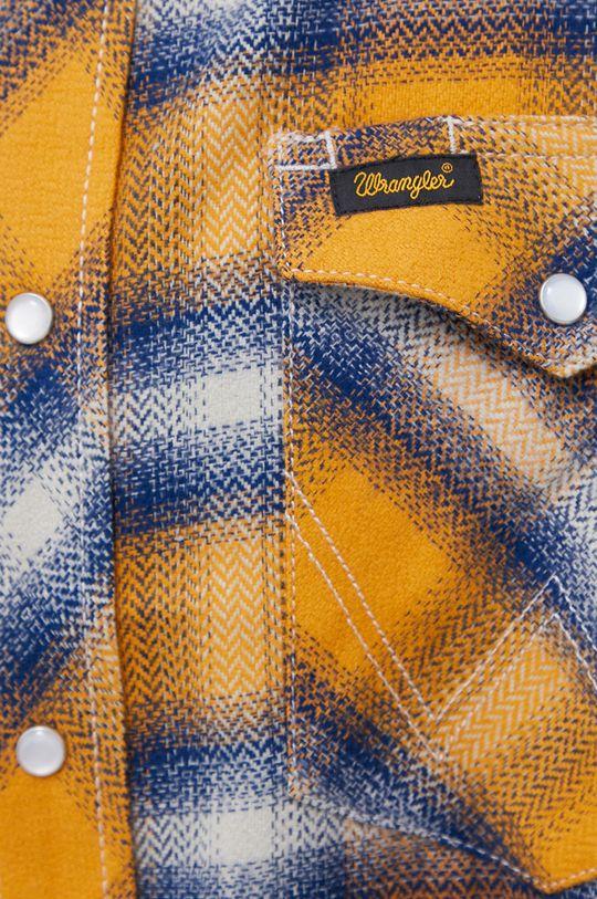 Wrangler - Koszula bawełniana pomarańczowy