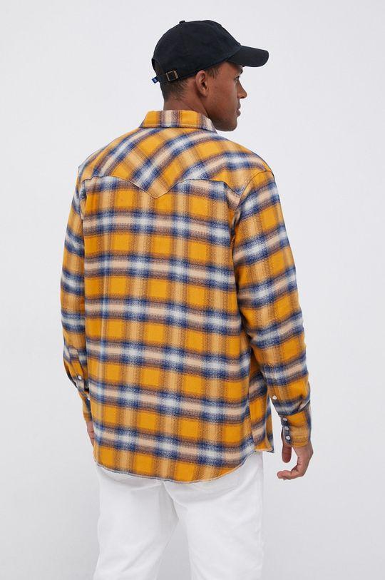 pomarańczowy Wrangler - Koszula bawełniana