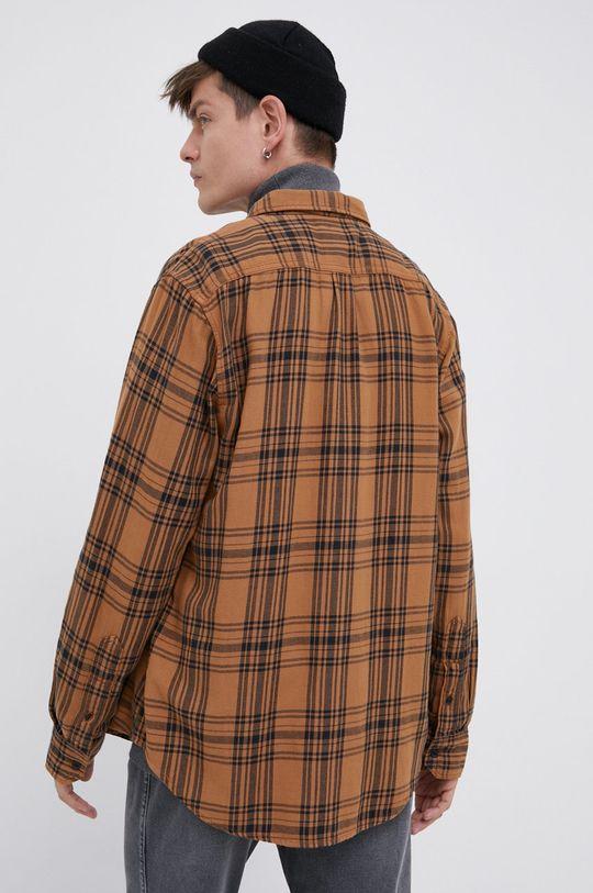 brązowy Lee - Koszula bawełniana