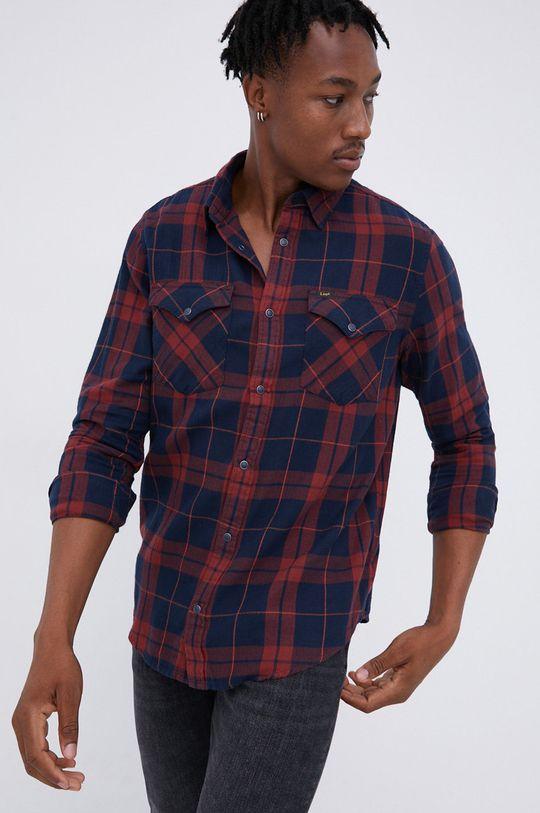 σκούρο μπλε Lee - Βαμβακερό πουκάμισο Ανδρικά