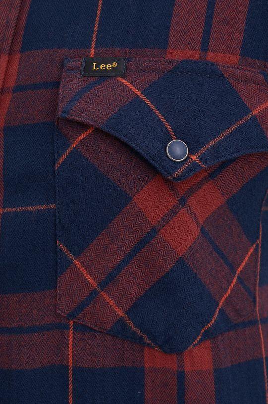 Lee - Βαμβακερό πουκάμισο σκούρο μπλε