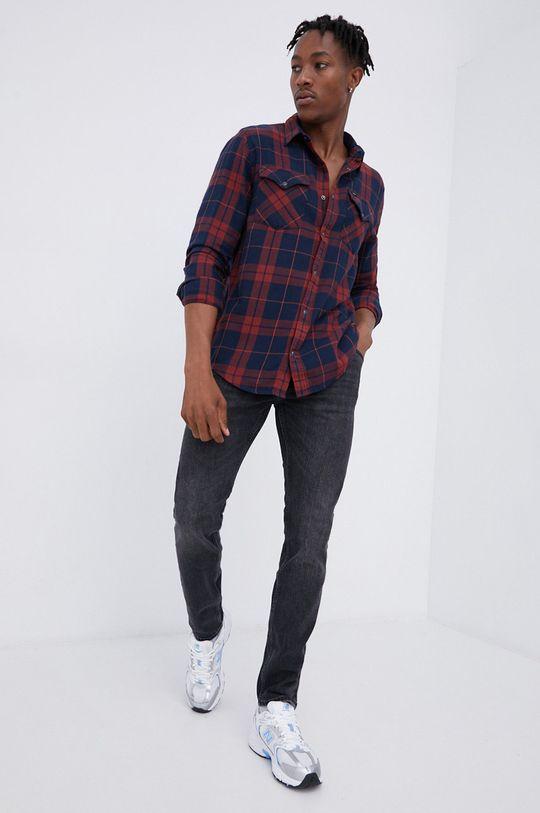 Lee - Βαμβακερό πουκάμισο  100% Βαμβάκι