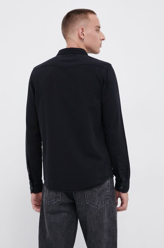 μαύρο Lee - Βαμβακερό πουκάμισο