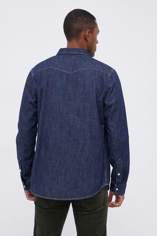 granatowy Lee - Koszula jeansowa