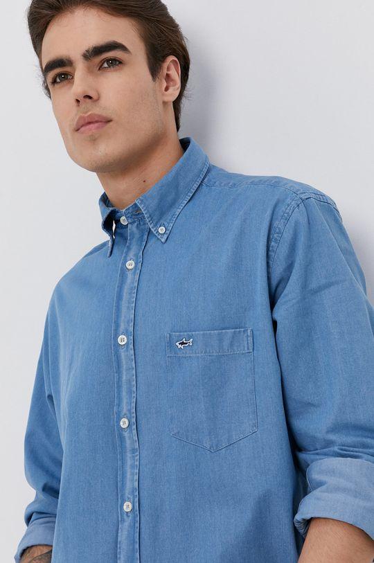 jasny niebieski PAUL&SHARK - Koszula jeansowa Męski