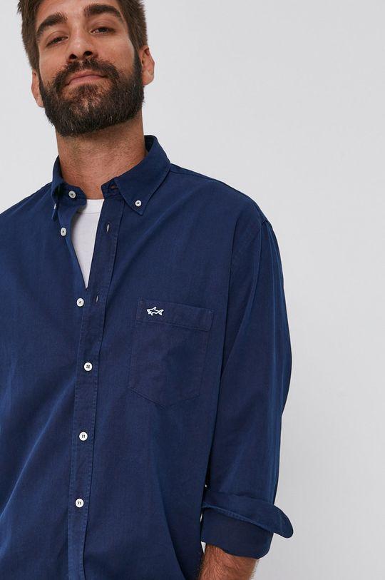námořnická modř PAUL&SHARK - Džínová košile Pánský