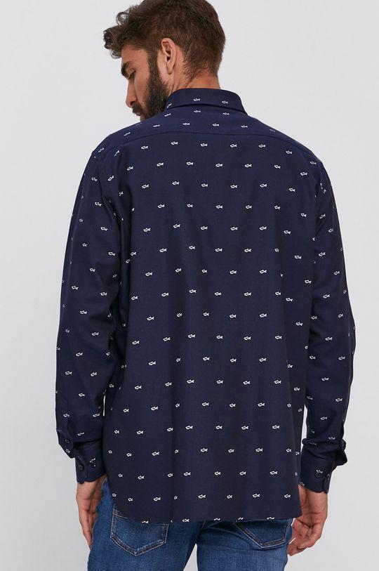 námořnická modř PAUL&SHARK - Bavlněné tričko