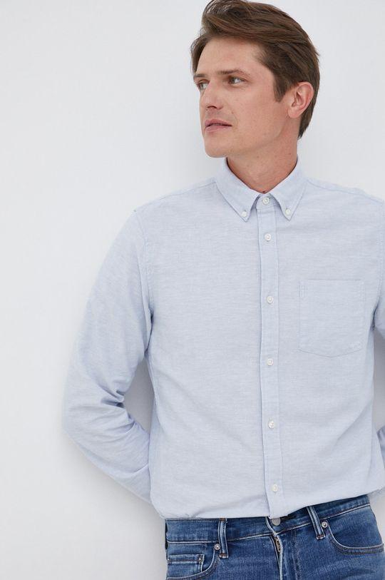 jasny niebieski GAP - Koszula Męski