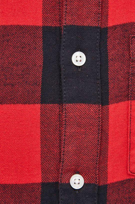 GAP - Koszula bawełniana czerwony