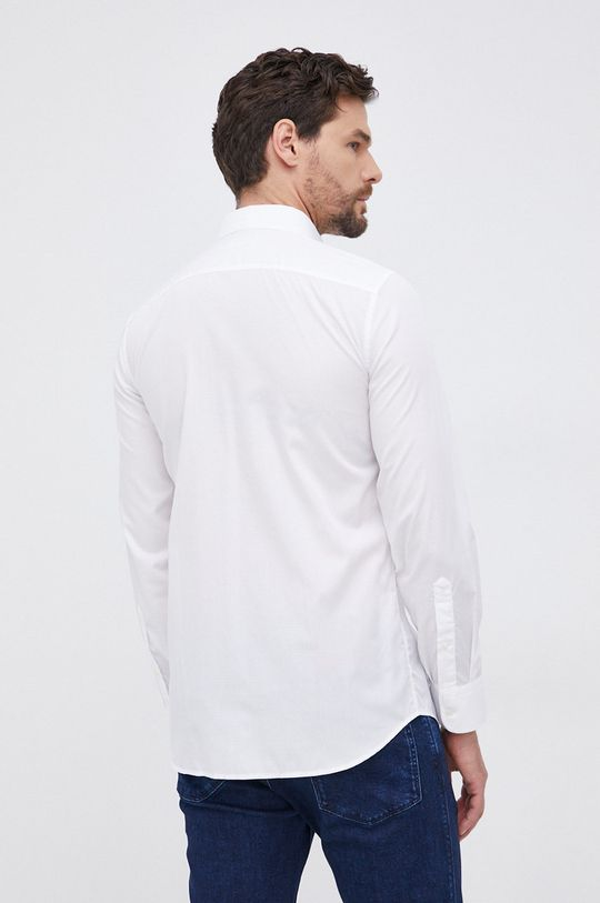 biały United Colors of Benetton - Koszula bawełniana