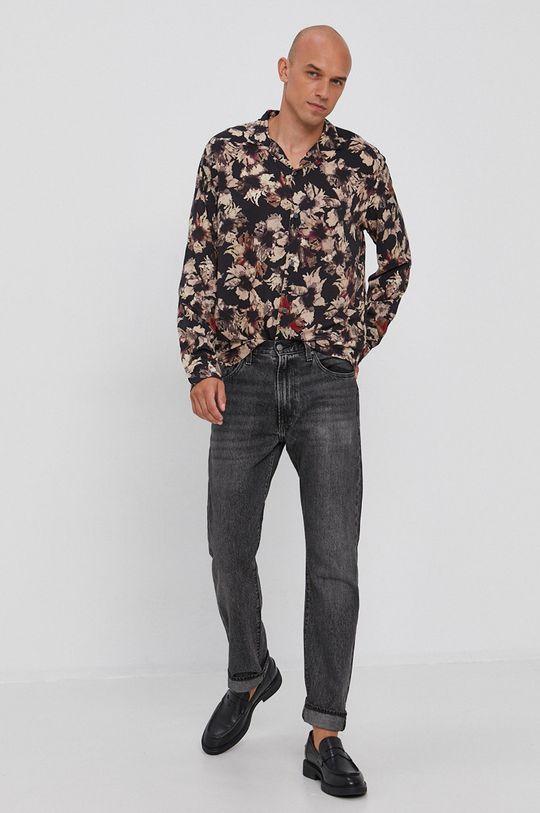 AllSaints - Koszula 100 % Wiskoza LENZING ECOVERO