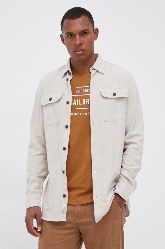 piaskowy Jack & Jones - Koszula bawełniana Męski