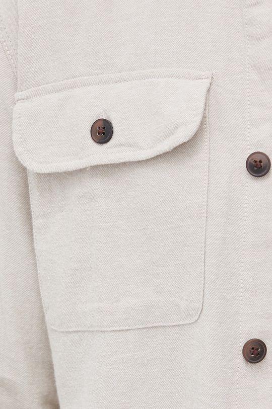 Jack & Jones - Koszula bawełniana piaskowy