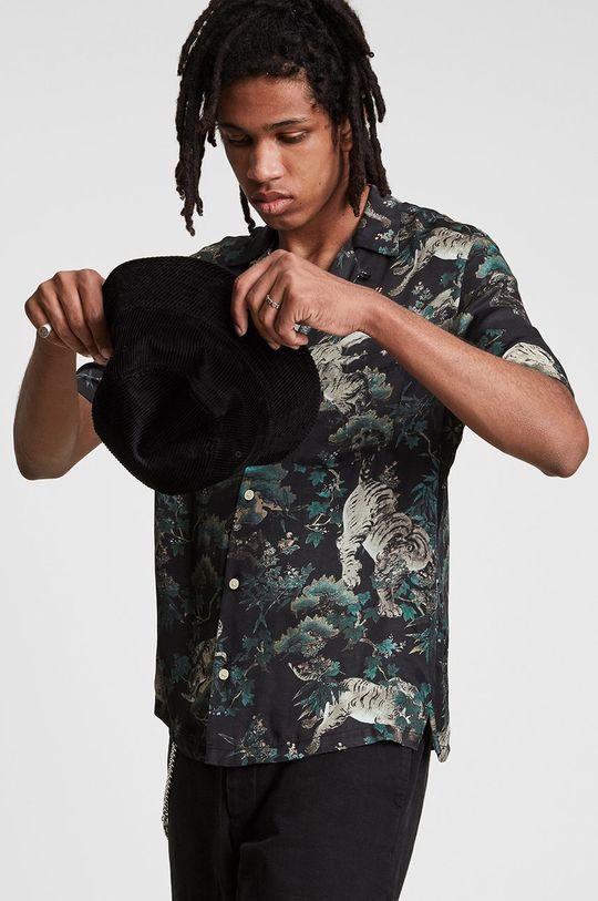 AllSaints - Koszula 55 % Wiskoza, 45 % Wiskoza LENZING ECOVERO