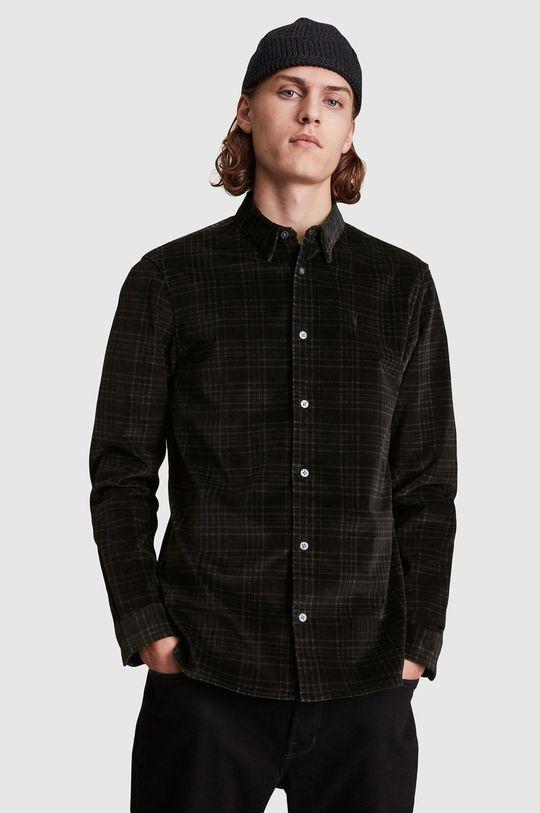 černá AllSaints - Košile Pánský