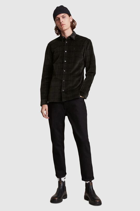 AllSaints - Košile  98% Bavlna, 2% Elastan