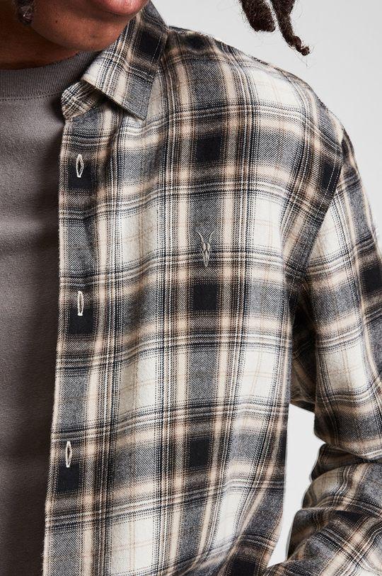 AllSaints - Koszula 49 % Bawełna, 51 % Lyocell