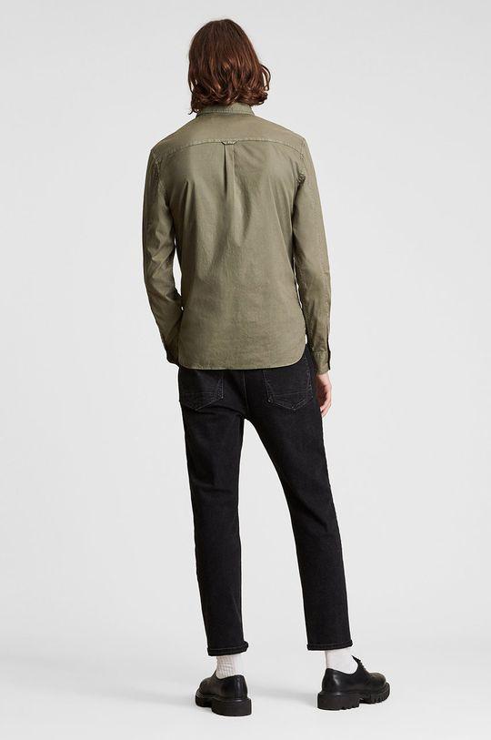 jasny oliwkowy AllSaints - Koszula