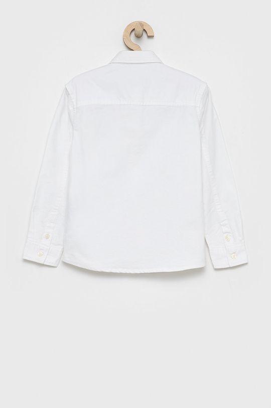 Calvin Klein Jeans - Koszula bawełniana dziecięca biały