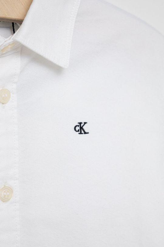 Calvin Klein Jeans - Koszula bawełniana dziecięca 100 % Bawełna