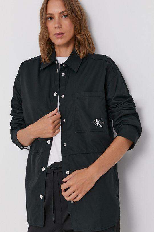 czarny Calvin Klein Jeans - Koszula Damski
